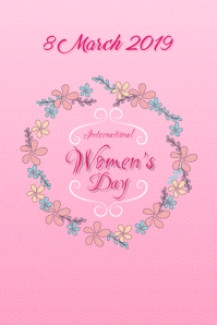 Happy Women's Day Floral2 !!!