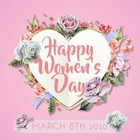 Happy Women's Day Instagram Post template