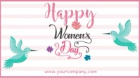 Happy Women's Day Instagram Video Template Digitale display (16:9)