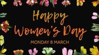 Happy Women's Day Instagram Video Template Digitale Vertoning (16:9)