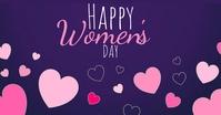 happy women's day wishes design template Immagine condivisa di Facebook