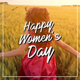 Happy Womens Day Video Dancing in Field Dance