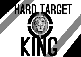 hard target tshirt design template A4
