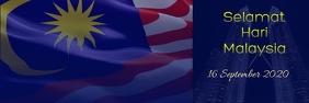 Hari Malaysia Cartel de 2 × 6 pulg. template