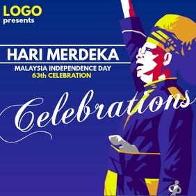Hari Merdeka Celebration Template