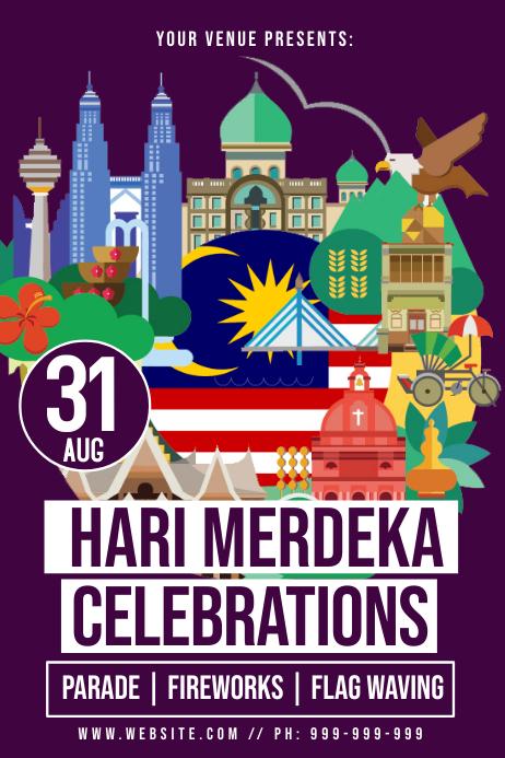 Hari Merdeka Poster