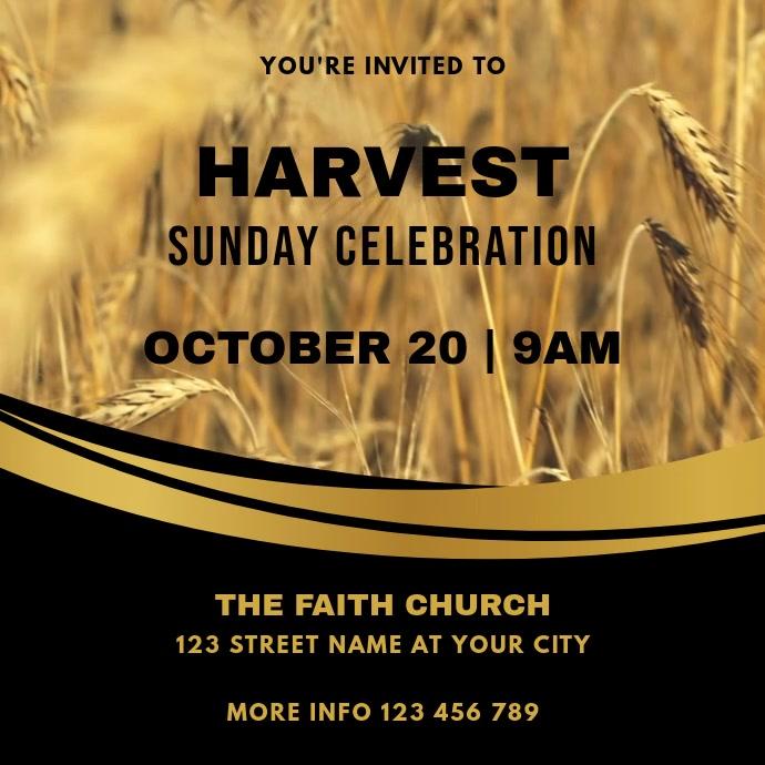 Harvest Church Sunday Celebration Service