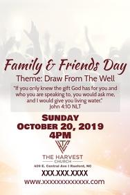 Harvest Banner 4' × 6' template