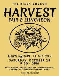 Harvest Fair and Luncheon Church Event