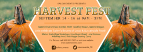 Harvest Festival Creative Facebook Cover Template
