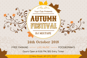 Harvest Festival Creative Poster Template