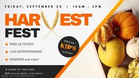 Harvest Festival Event Facebook Cover Video