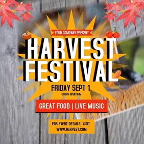Harvest Festival Instagram Video