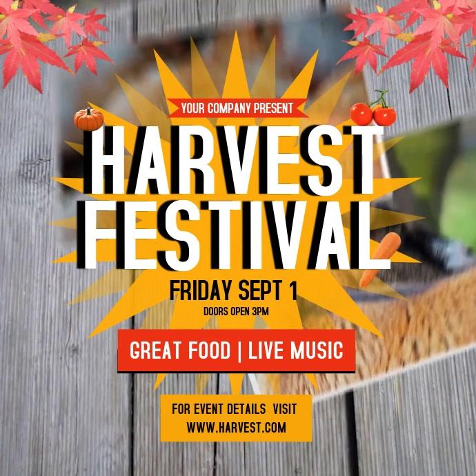 Harvest Festival Instagram Video