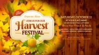Harvest Festival Twitter Post template