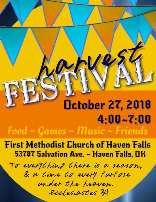 Harvest Festival Video