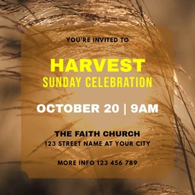 Harvest Sunday Celebration