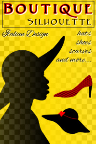 hat woman shoe - boutique silhouette Italian fashion design