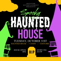 Haunted House Iphosti le-Instagram template