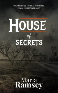 Haunted House Horror Book Cover