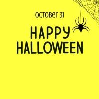 Happy Halloween 2021 Instagram 帖子 template
