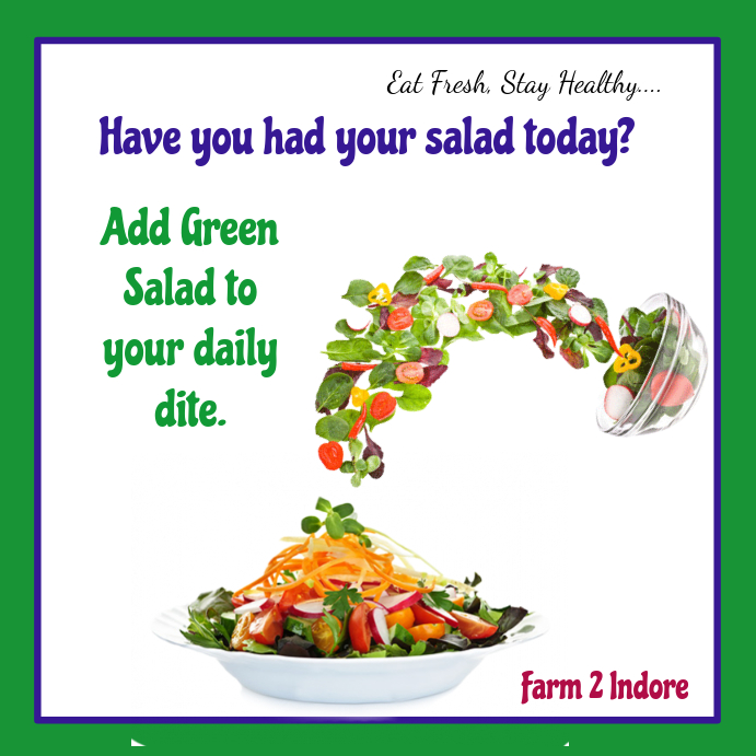 have you had salad today