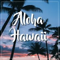 Hawaii Iphosti le-Instagram template