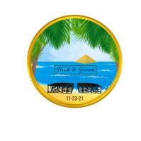 Hawaii Island Wedding Venue Coin 徽标 template