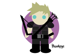 Hawkeye Poster template