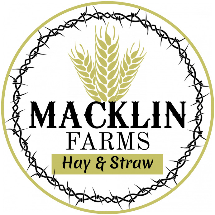 Hay and Straw Logo Logótipo template