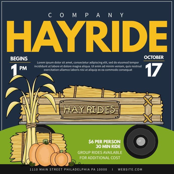 Hayride Instagram-opslag template
