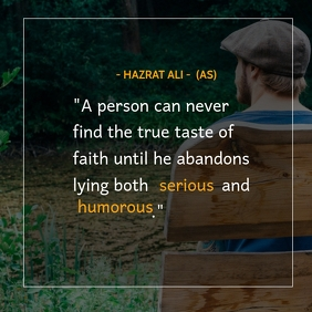 Hazrat Ali quotes,inspirational,Wisdom quote Instagram Post template
