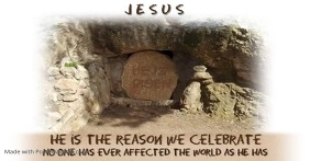 HE is Risen FB Image