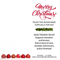Head Tension roller blend gift card โพสต์บน Instagram template
