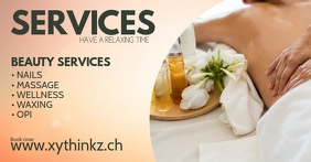 Header Banner Services Beauty Spa Wellness Ad
