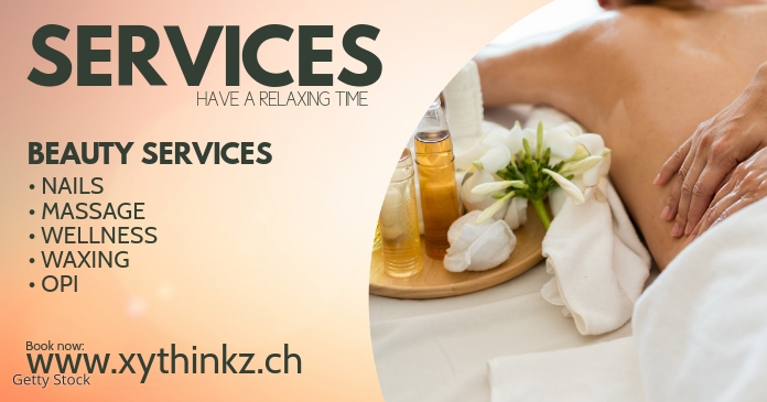 Header Banner Services Beauty Spa Wellness Ad Template Postermywall