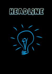 Innovative Headline Flyer A4 template