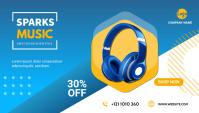 headphone sale blog Header template