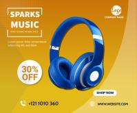 Headset ads medium Rectangle Umugqa Ophakathi template