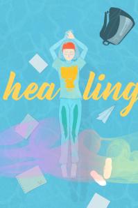 healing Плакат template