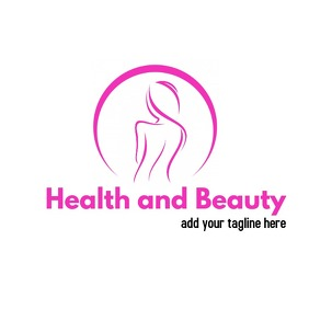 Health and beauty dark purple logo