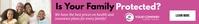 Health and life insurance banner ad template Tabla de posiciones