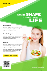 Health And Nutrition Flyer