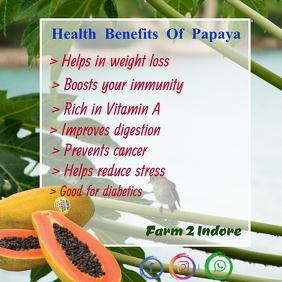health bebefits of papaya