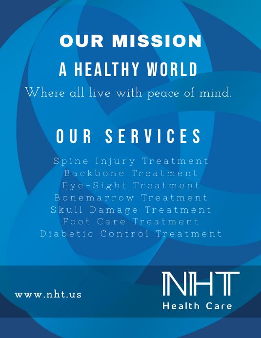 Health Care (Blue Theme)