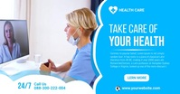 Health Care Facebook Shared Post Template