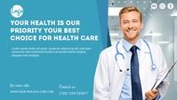 health care service blog header post template