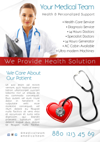 Health Care Service Flyer