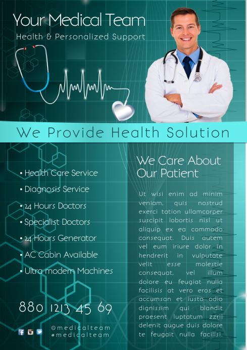 Health Care Service Flyer