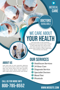 Health Affiche template